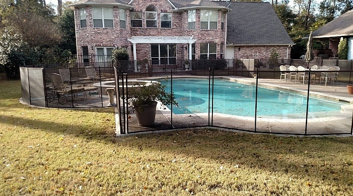 best removable pool fence in houston so email us