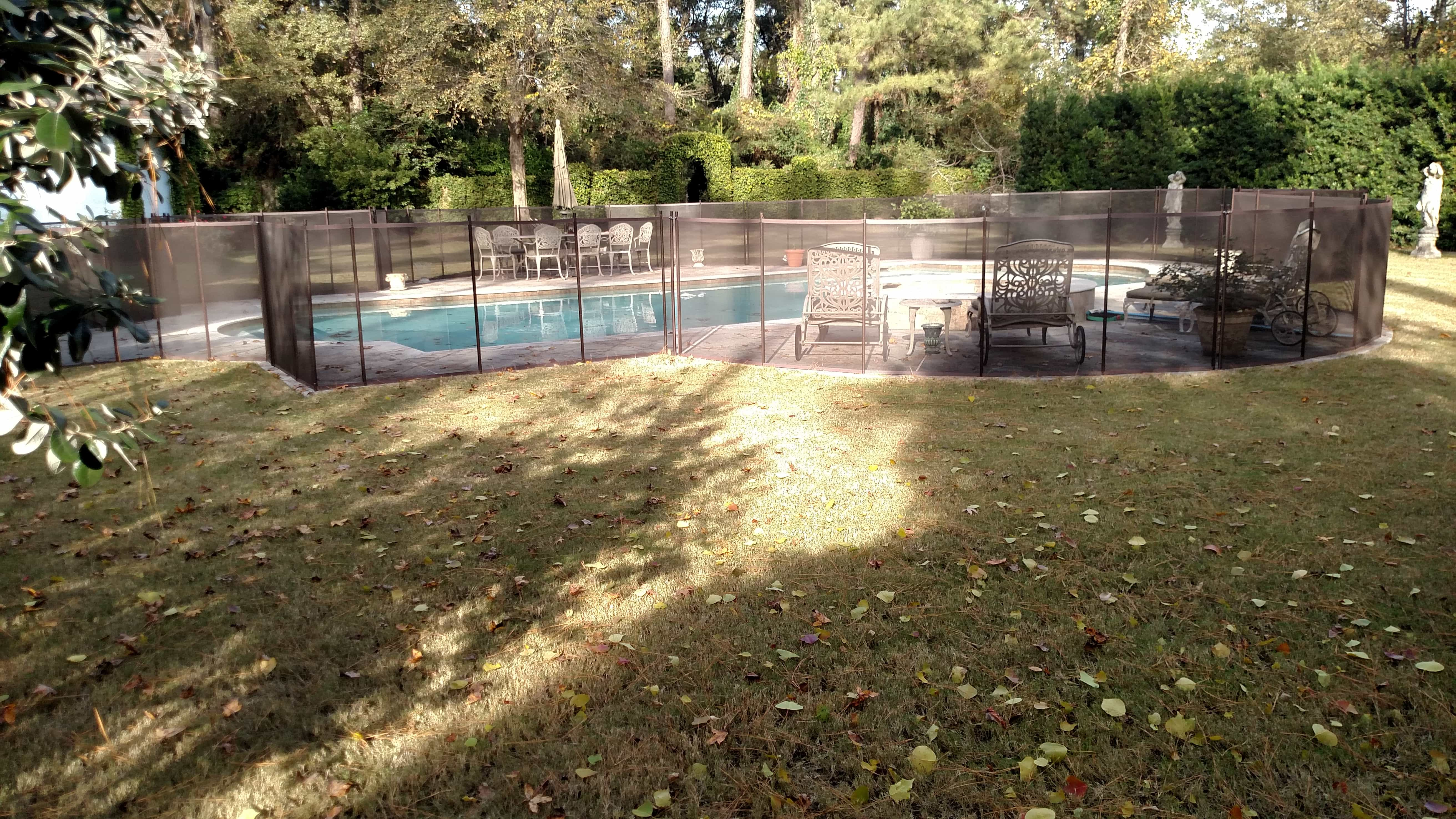 Best Pool Fence Houston Tx Materials